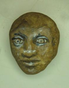 Visage de pierre 1