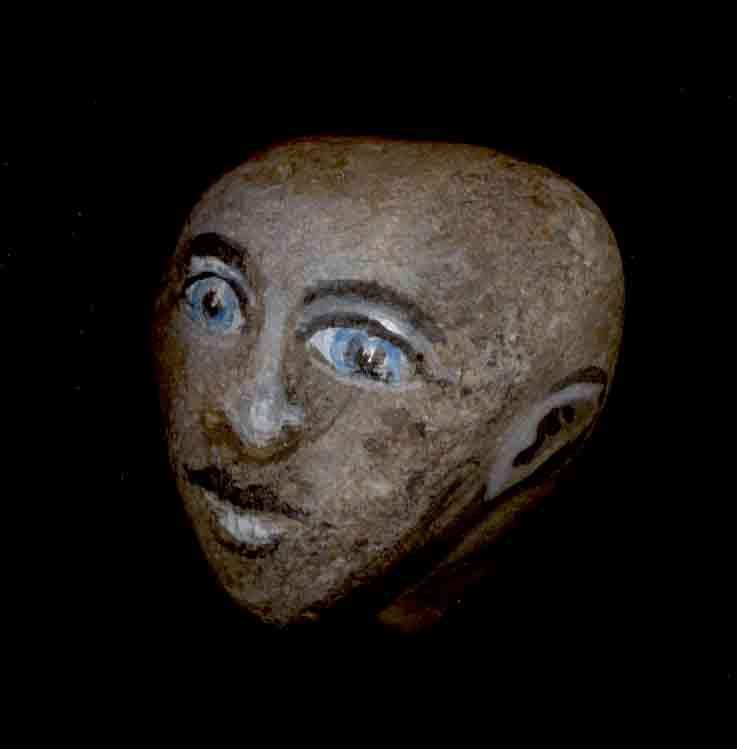 Pierre trouvée à l'abbaye de Jumièges